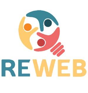 Reweb logo vertical
